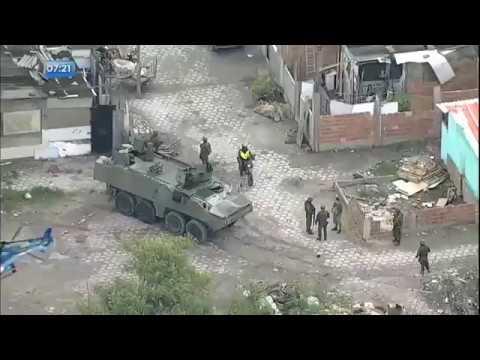 Forças Armadas fazem operação em comunidade do Rio de Janeiro