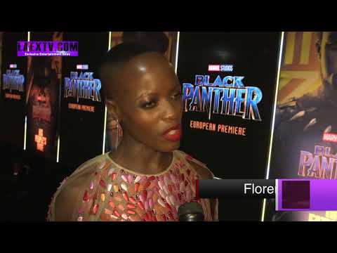 """Exclusive Interview with Florence Kasumba """"Black Phanter World Premeire"""""""