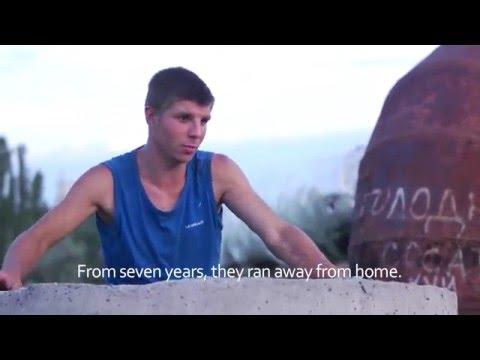 Ukraine's children of the underground