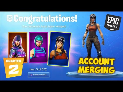 FORTNITE ACCOUNT MERGING CHANGES IN CHAPTER 2 + HOW TO MERGE (Fortnite Account Merging)