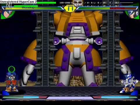 Megaman X Rush to Battle - playing as gaea