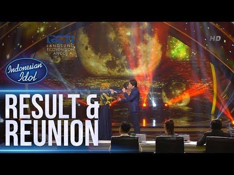 AYU ft. DONNIE SIBARANI - HARUSKAH KU MATI - RESULT & REUNION - Indonesian Idol 2018