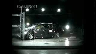 Honda Civic | 2009 | Frontal Small Overlap into Pole Crash Test | NHTSA | CrashNet1