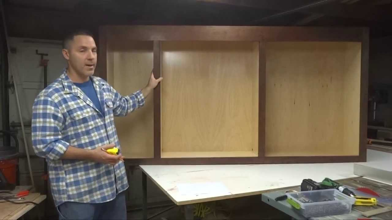 Build Your Own Kitchen Cabinet How To Build Your Own Kitchen Cabinets Part 4