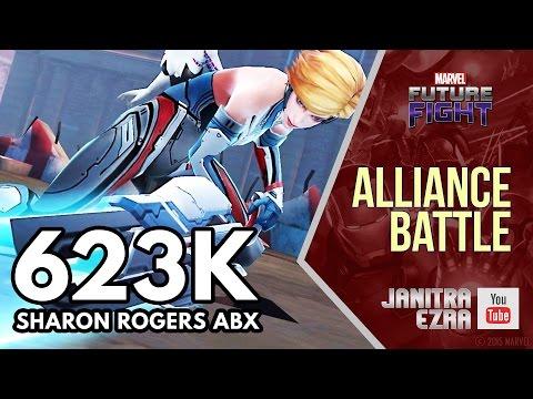 [Marvel Future Fight] Sharon Rogers Alliance Battle Extreme 623K