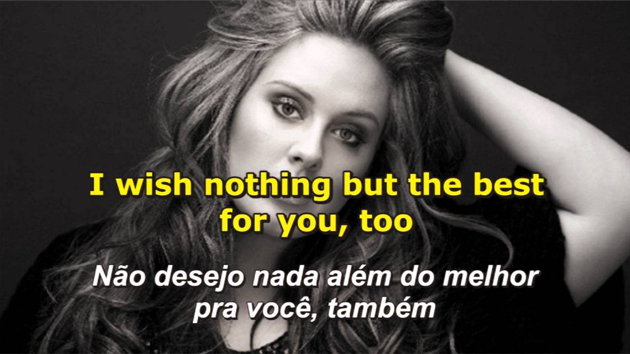 Adele Someone Like You Letra E Tradução Youtube