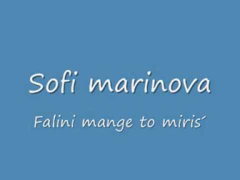 Sofi marinova falini mange to miris by seatberisha