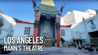 Chinese Mann's Theatre Walking Tour - Hollywood Walk of Fame Walkthrough in Los Angeles Downtown