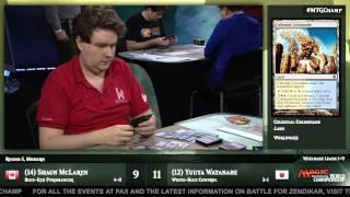2015 World Championship Round 5 (Modern): Shaun McLaren vs. Yuuya Watanabe