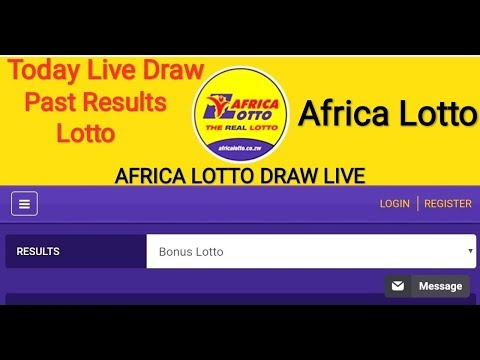 AfricaLotto Results Today Live Draw || AFRICA LOTTO DRAW LIVE || Results Today Live African