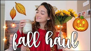 FALL DECOR HAUL + HOW TO DECORATE FOR LESS!