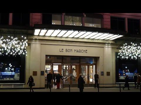 France.Франция.Paris.Le BON MARCHE.Самый старый универмаг Европы.Рождество в Париже.Christmas!