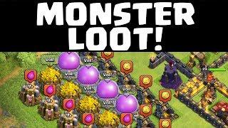Monster-Loot + Bogis max ! - Let's Play Clash of Clans (Deutsch) #42
