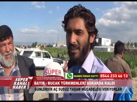 BAYIR   BUCAK TÜRKMENLERİ SOKAKDA KALDI