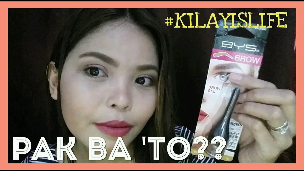 Pang Kilay Bys Brow Gel First Impression Review