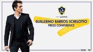 WATCH: LA Galaxy head coach Guillermo Barros Schelotto's complete press conference