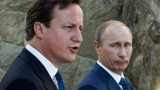 David Cameron and Vladimir Putin stress common goals on Syria