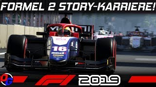 F1 2019 KARRIERE #1 – F2 Story Modus Einstieg | Let's Play Formel 1 Deutsch Gameplay German