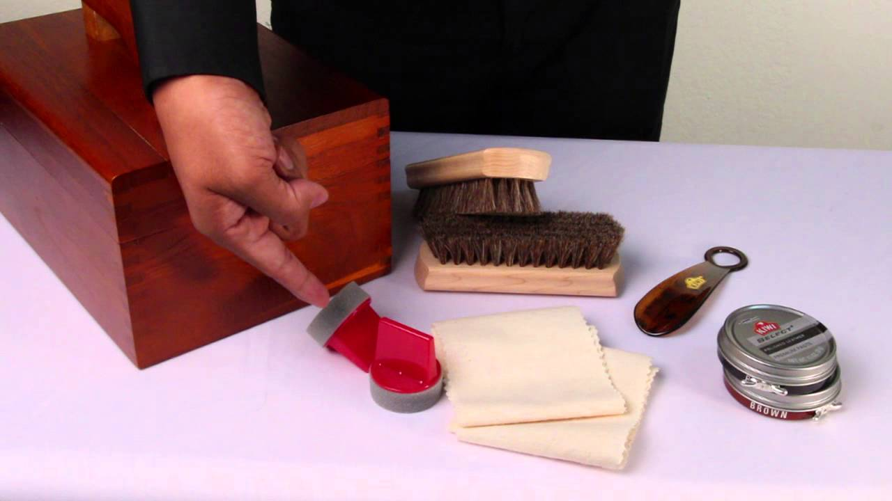 Kiwi Shoe Shine Box Uk