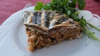 Rice With Anchovies Recipe From Northern Turkey | Traditional Seafood Recipe