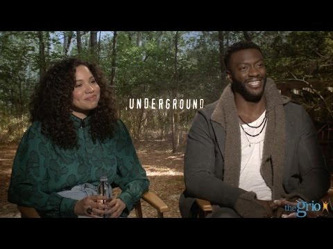 'Underground' star Aldis Hodge gives flawless answer about why he's a feminist