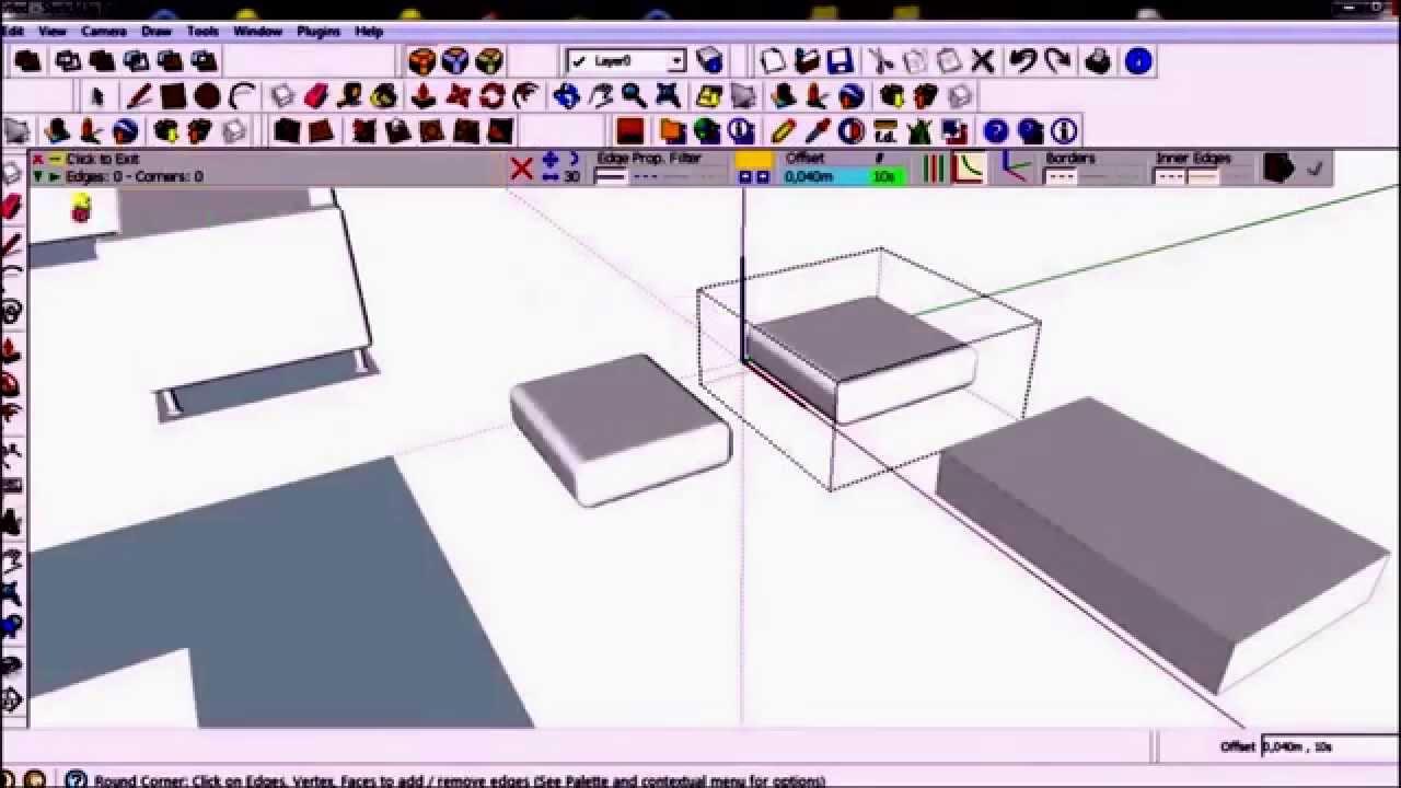 Sketchup Tutorial Video Cara Membuat Sofa Di Sketcheup YouTube