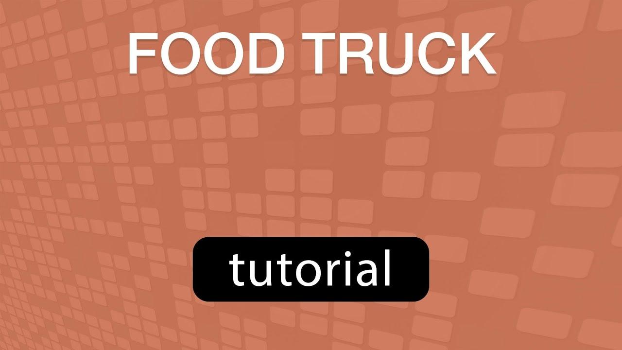 GoVenture Food Truck - TUTORIAL Video