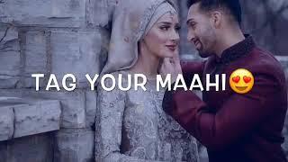 Maahi ve tere piche piche chalna || beautiful WhatsApp status song