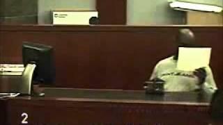 Biker spanks Cop in court Part1