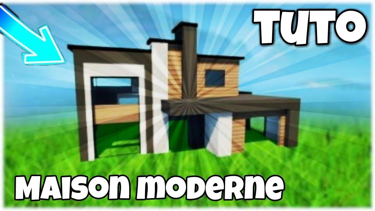 TUTO - MAISON MODERNE FORTNITE | NABRO