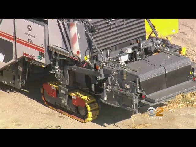 Goldstein Investigation: $1.3 Million Paving Machine Sits Idle While Homeless Man Lives Underneath