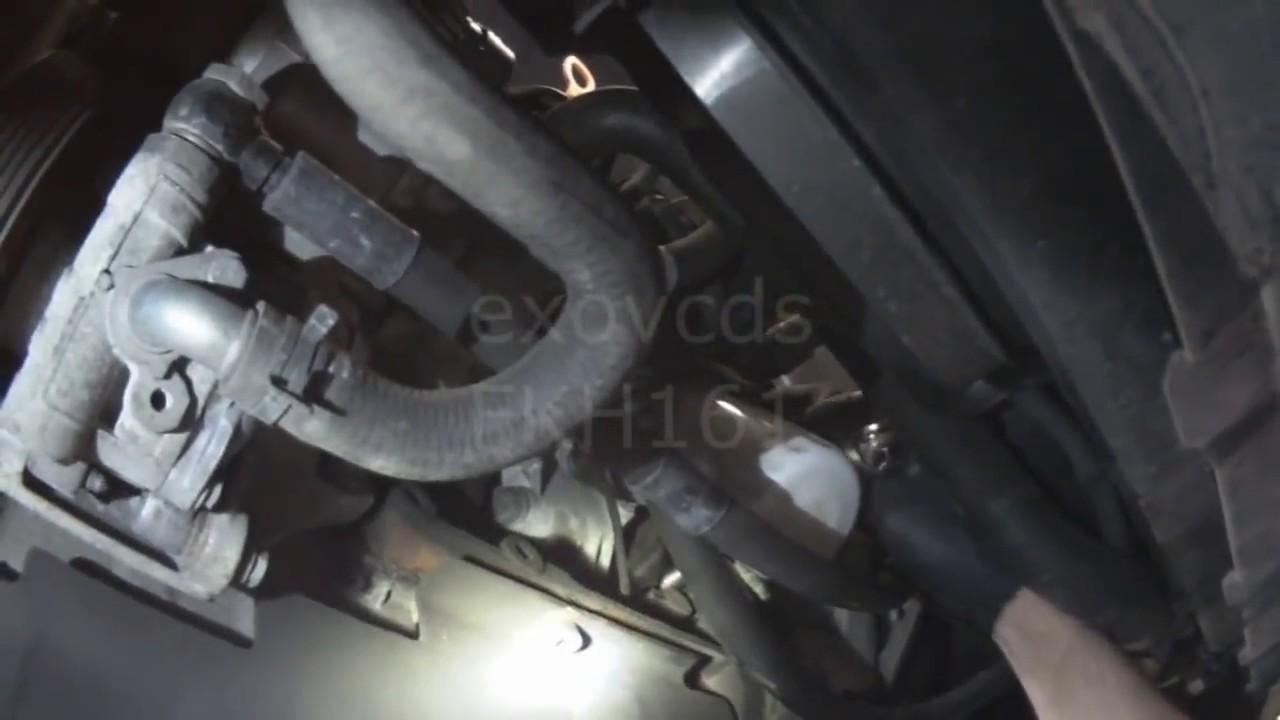 VW A4: 20L Replacing Crankshaft Position Sensor  Engine