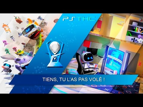 THE PLAYROOM VR - Dose of freaky ghost! Trophy Guide | Trophée Tiens, tu l'as pas volé !