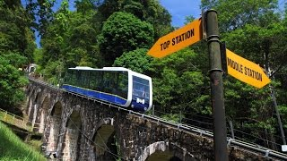 Penang Hill Train Ride and Hilltop View ★Funicular★ ★Scenic★