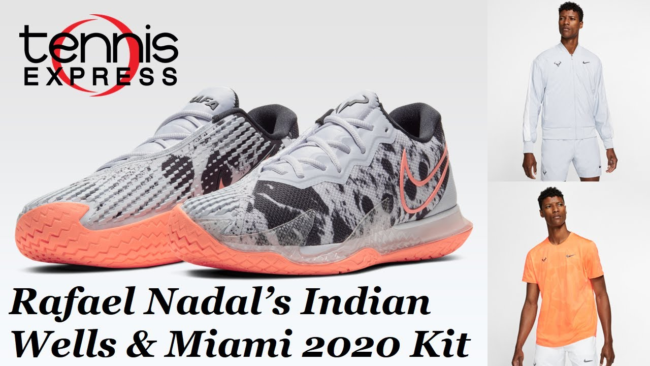 Rafael Nadal Indian Wells Miami 2020 Gear Guide Tennis Express Youtube