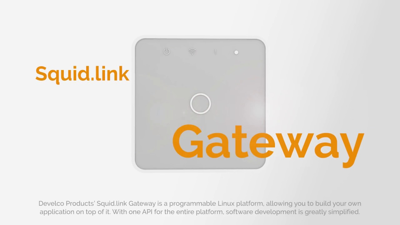 Squid link Gateway - extremely flexible IoT hub