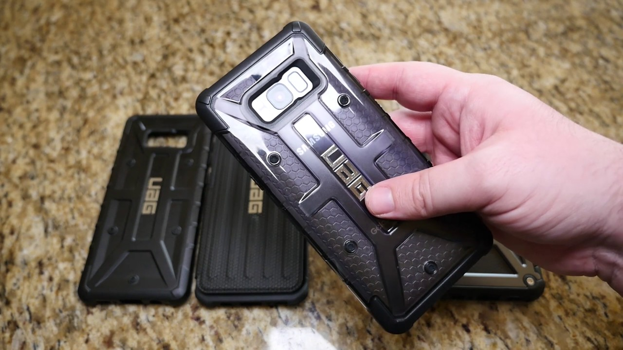 finest selection 80747 b89ef SAMSUNG GALAXY S8 PLUS UAG CASES REVIEW