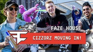 Cizzorz Moving In to the FaZe House!