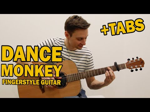DANCE MONKEY - TONES AND I (fingerstyle Guitar Cover). Ваня, научи!