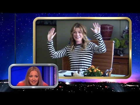 Ellen Pompeo Makes a Foot Spa Buddy on #RepeatAfterMe