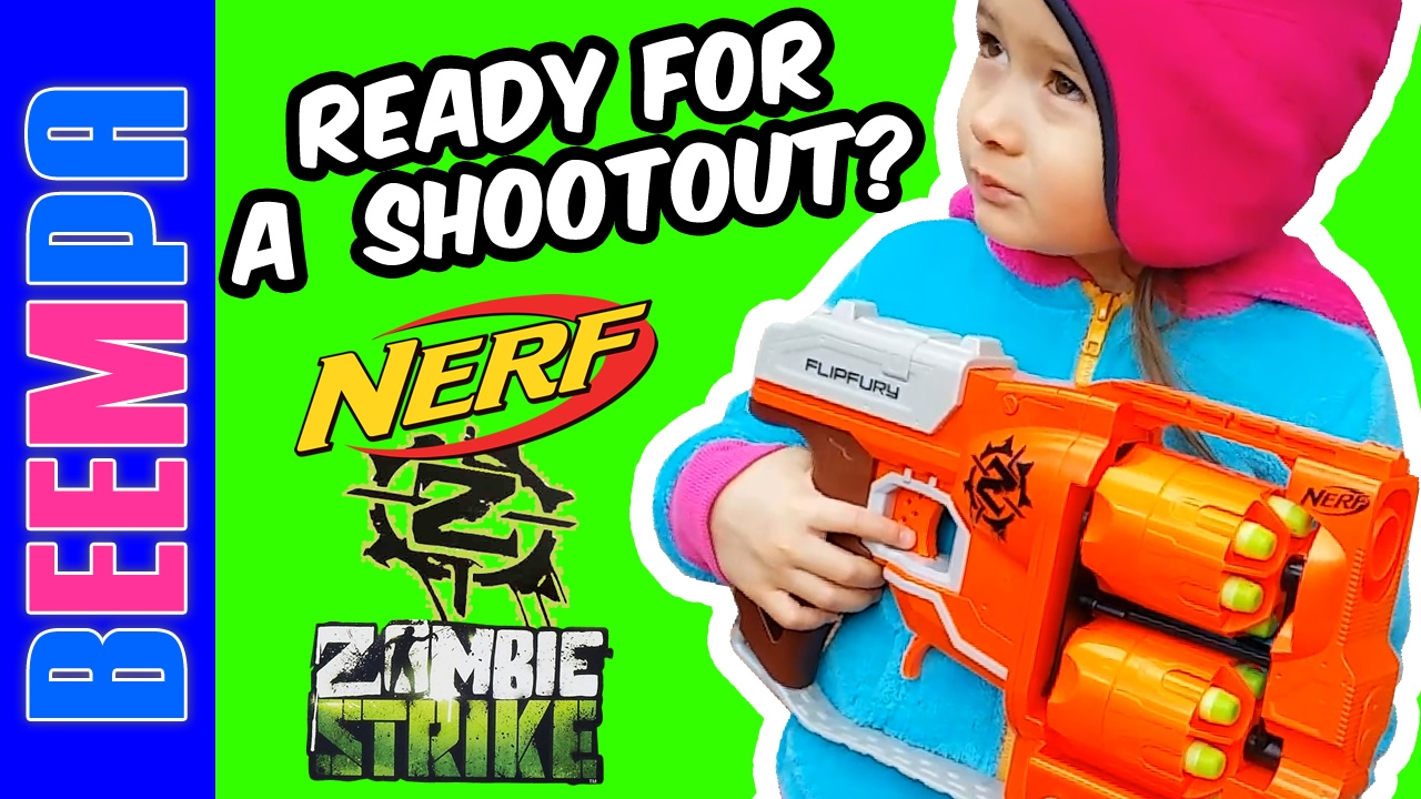 Top 10 nerf guns toy reviews for kids and parents - Nerf Gun Baby Toy Nerf Guns Flipfury Blaster Target Practice Challenge Shooting Videos For Kids Youtube