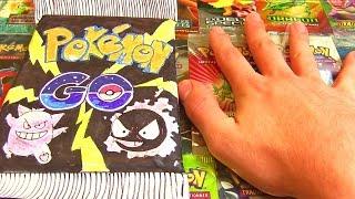 Ouverture d'un Booster Pokémon GO ENORME XXL !! FAIT MAIN !