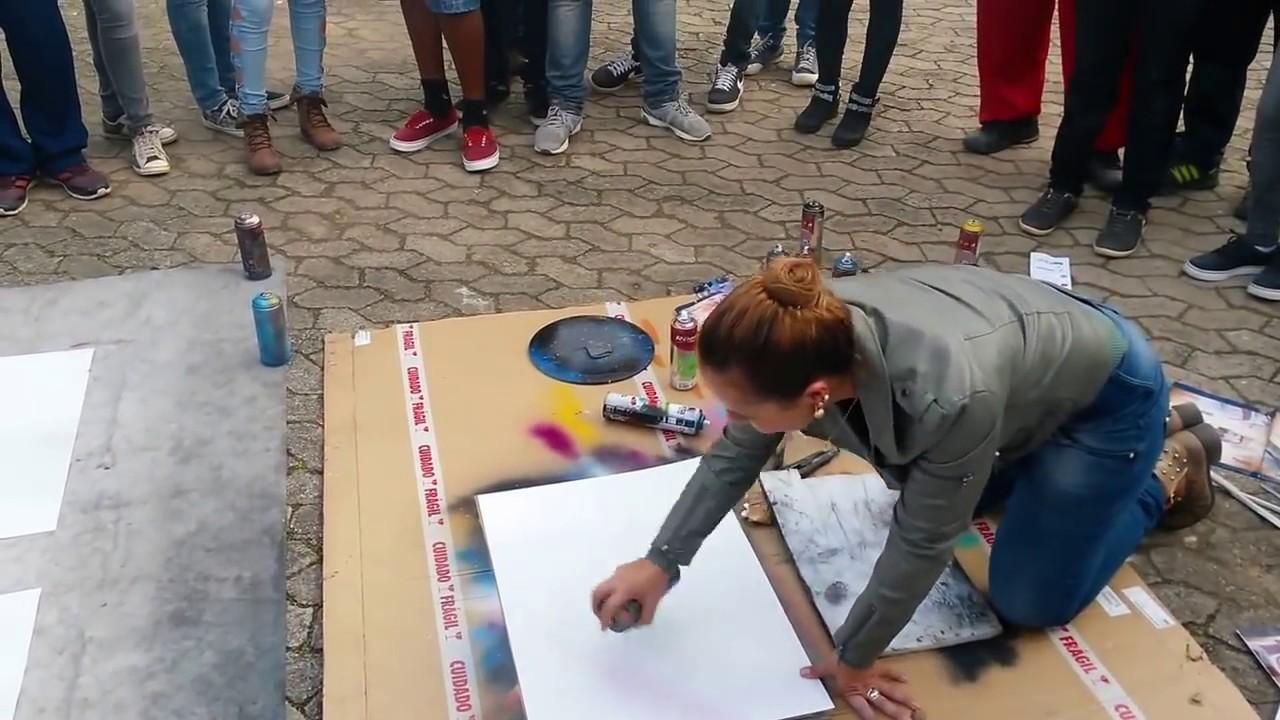 Amazing Spray Painting Street Artwork Youtube