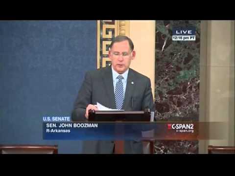 Senator Boozman Honors the Life of Dale Bumpers