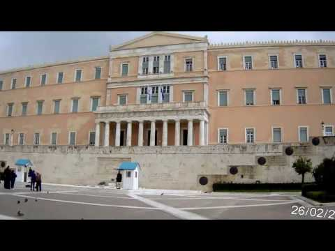 Athens by bicycle, a short ride in the major monuments of Athens