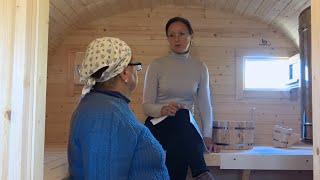 Тест печки Гриль в Квадро баньке. Прокаливание и закладка камней.