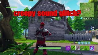 Salty springs Creepy sound glitch| Fortnite battle royale