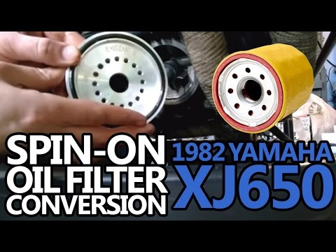 Converting to a Spin-on Style Oil Filter | XJBikes - Yamaha