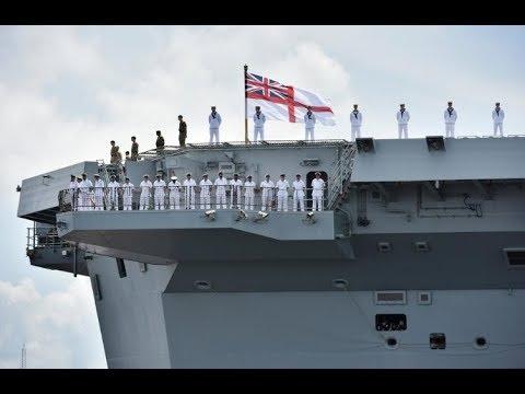 HMS Queen Elizabeth USA  - Misleading Press/Social Media Reports