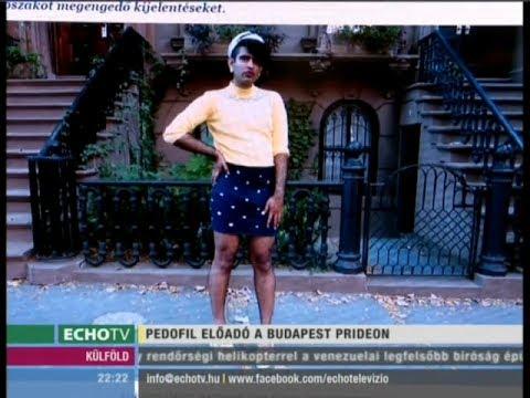 Pedofil előadó a Budapest Pride-on - Echo Tv letöltés